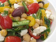 chick-pea-salad-with-peppers-tomatoes