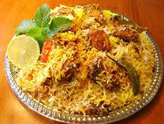 Chicken/Vegetable Biriyani