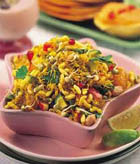 Sprout and Fruit Bhel
