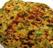 besan-and-spinach-paranthas