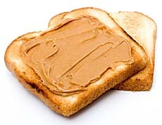 toast-with-peanut-butter