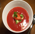 strawberry-soup